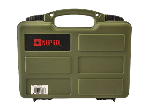 NUPROL WAVE FOAM SMALL HARD CASE (GREEN)