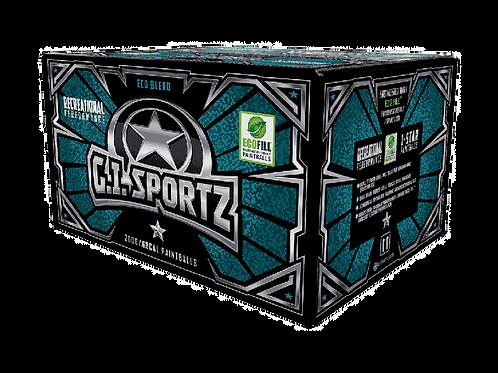G.I. SPORTZ 1 STAR 2,000 PAINTBALLS