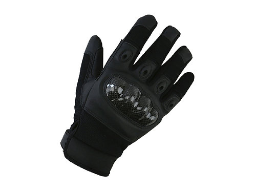 KOMBAT UK PREDATOR TACTICAL GLOVES (BLACK)