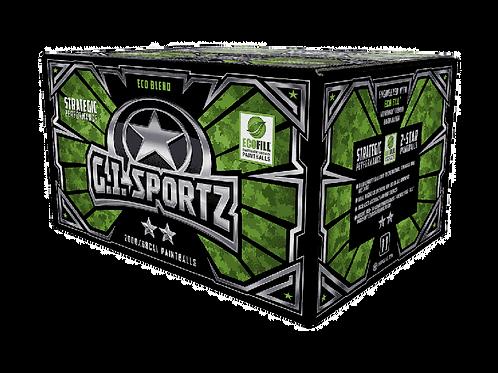 G.I. SPORTZ 2 STAR 2,000 PAINTBALLS