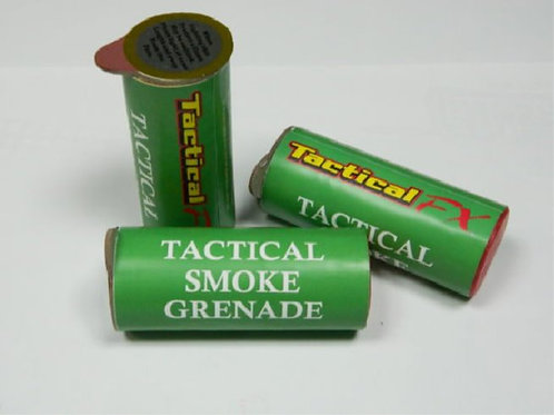 TACTICAL FX 60 SECOND TACTICAL SMOKE GRENADE (RED)