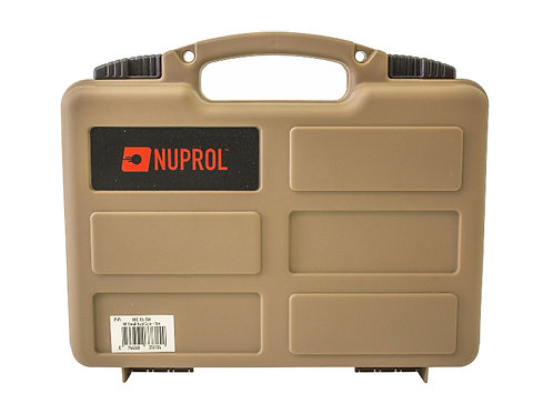 NUPROL WAVE FOAM SMALL HARD CASE (TAN)