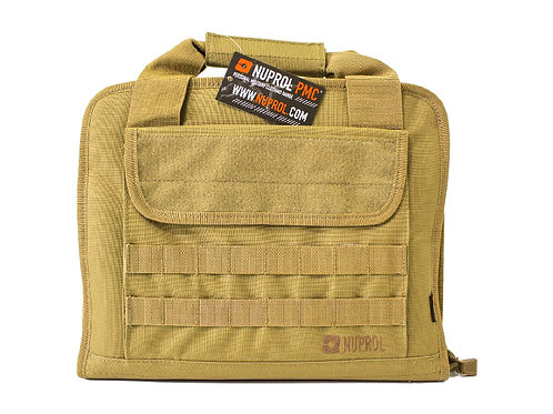 NUPROL PMC DELUXE PISTOL BAG (TAN)