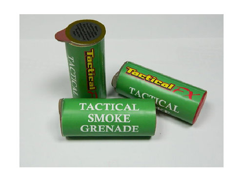 TACTICAL FX 60 SECOND TACTICAL SMOKE GRENADE (YELLOW)