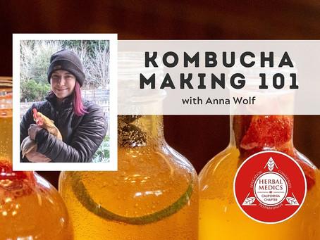 Kombucha At Home- Made EASY!