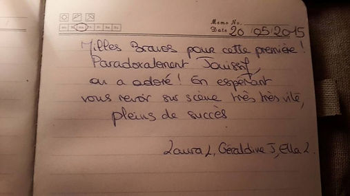 Livre d'or Paradoxe(s)
