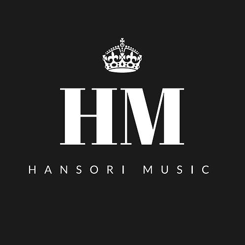Hansori Music logo cotton T-Shirt