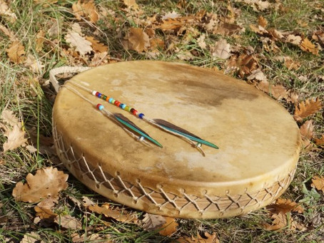Méditation au tambour et animal totem