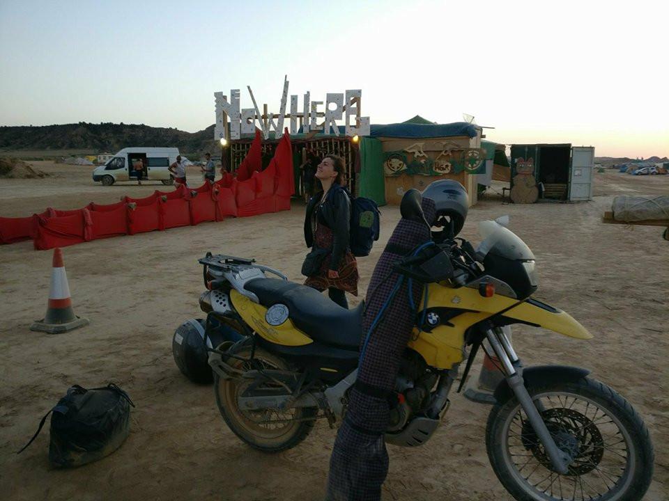 motobike Nowhere Festival roadtrip
