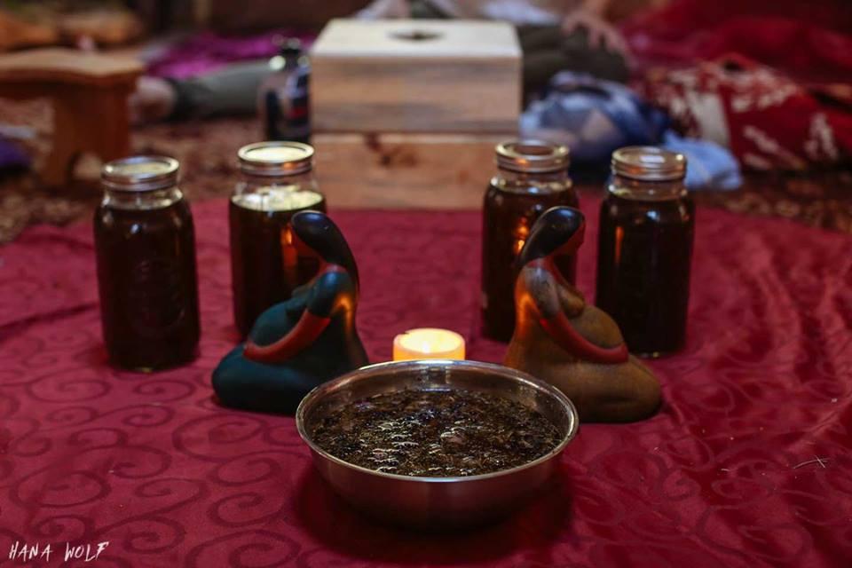 Yoni steaming preparation
