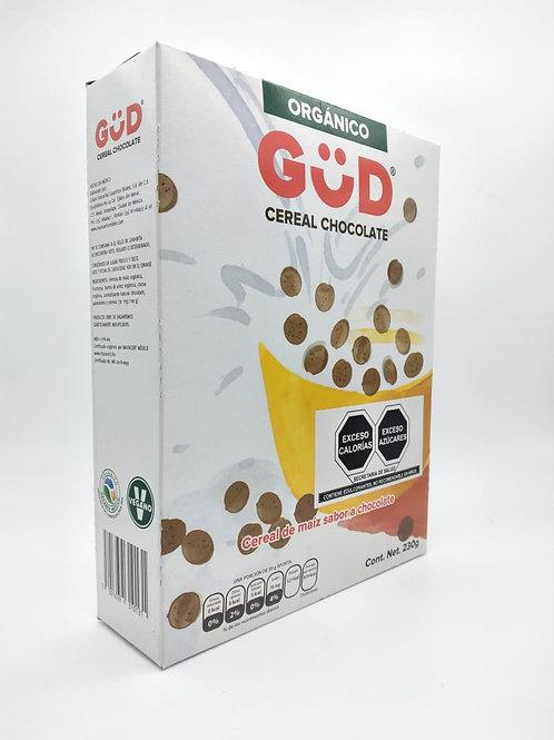 Cereal de maíz orgánico