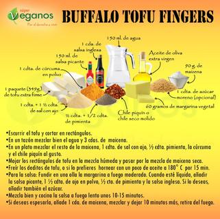 Buffalo Tofu Fingers