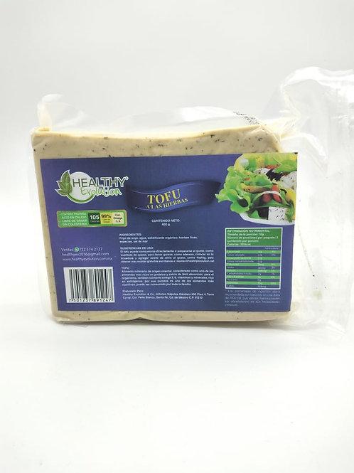 Tofu a las hierbas