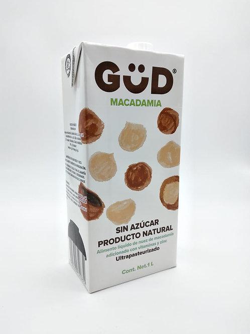 Bebida de macadamia sin azúcar