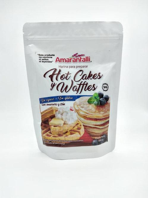 Harina para Hot Cakes y Waffles sin gluten.