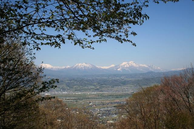 春の雁田山登山②