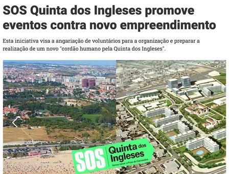 SOS Quinta dos Ingleses promove eventos contra novo empreendimento