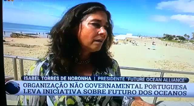 """ONG """"Future Ocean Alliance"""" sobre o desastre ambiental da Praia de Carcavelos"""