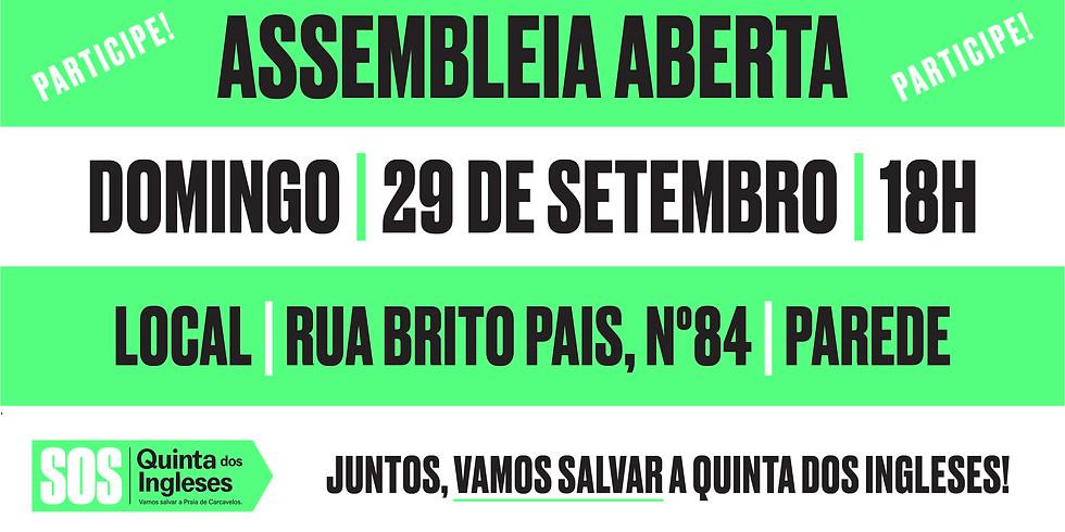 Assembleia Aberta / Open Assembly