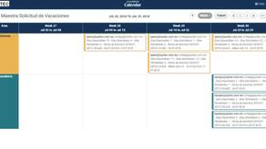 Calendar App de Smartsheet