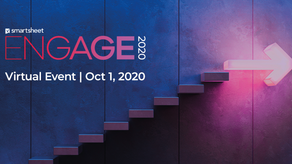 ¡Regístrate a Smartsheet ENGAGE 2020!
