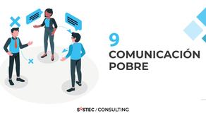 """""""Comunicación pobre"""" (9/10) Factores que destruyen proyectos"""