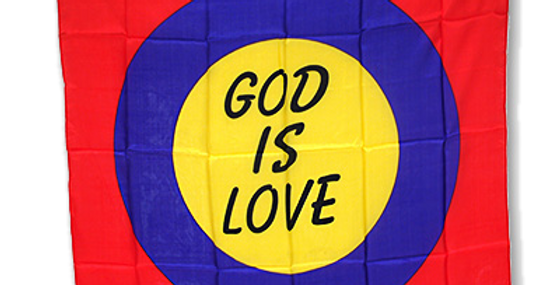 God is Love Gospel Silk (36 inch)