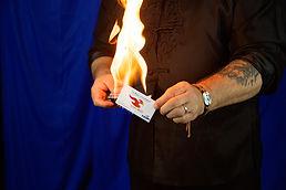 Scott Wolf's Hottest Magic Buisness Card In Portland