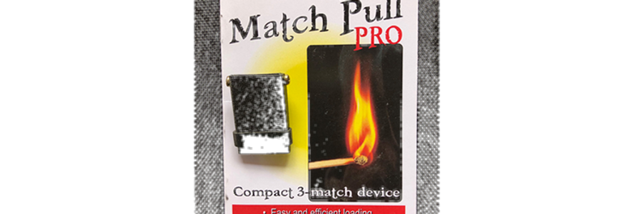Produce Lit Matches From Your Jacket by Trevor Duffy
