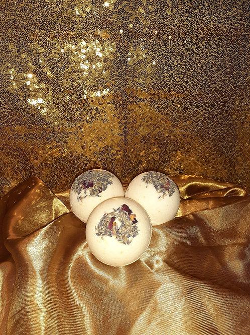 Luxurious Lavender & Rose Bath Bomb