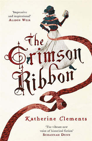 The Crimson Ribbon Katherine Clements Paperback cover.jpg