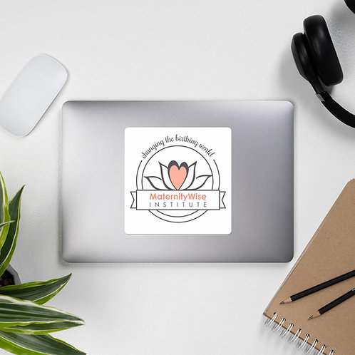 MaternityWise Logo stickers