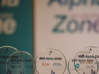 Article about IBM Alpha Zone and Biop Medical at GeekTime