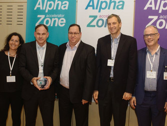 Biop won the award as the best startup from the first class of the Alpha Zone