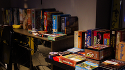 Board game library by Diversions