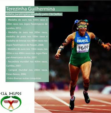 Terezinha Guilhermina - Atleta Paraolímpico