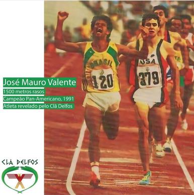 José Mauro Valente - Campeão Pan-Americano 1991