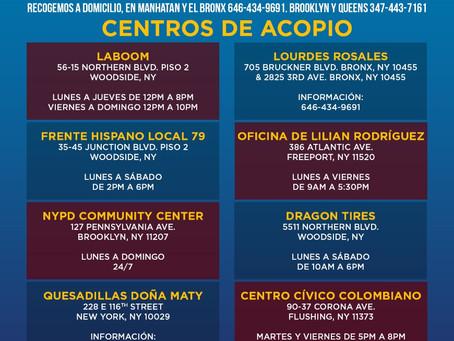 Nuestros hermanos de Colombia, Honduras, México y Guatemala nos necesitan!