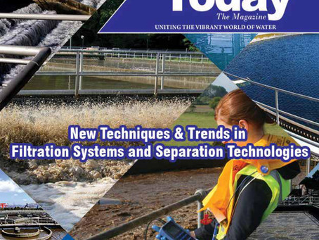 Article: Effective Solid Separation, Water Today Magazine