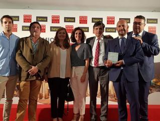 El equipo de Avantms recoge el Premio de Innovación de Actualidad Económica