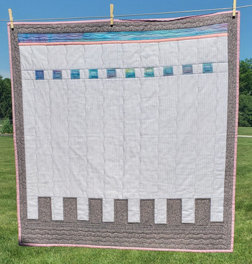modern minimalist quilt