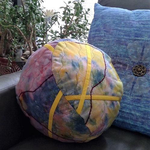 3-D Quilted Art Pillow