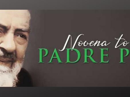 Novena to Saint Pio of Pietrelcina (Feast: September 23)