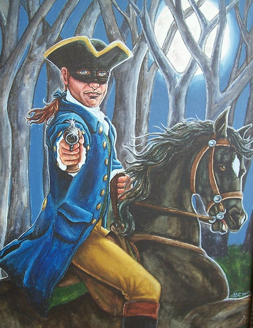 """Stand and Deliver"" Print"