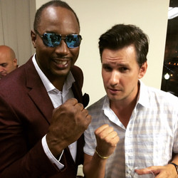 Tommy Youngsteen Lennox Lewis
