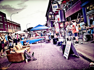 Osborne Street Festival Canada Day Sale