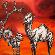 The Squirrel and Camel Discuss