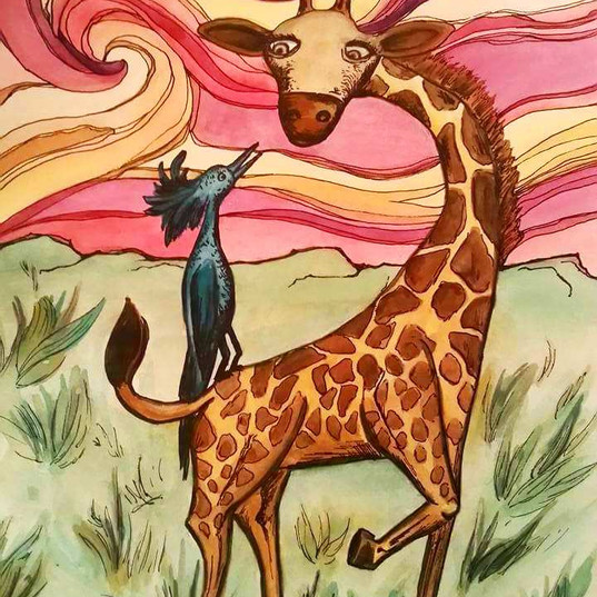 The Giraffe and the Bird
