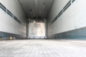 cargo area of a refrigerated semitrailer