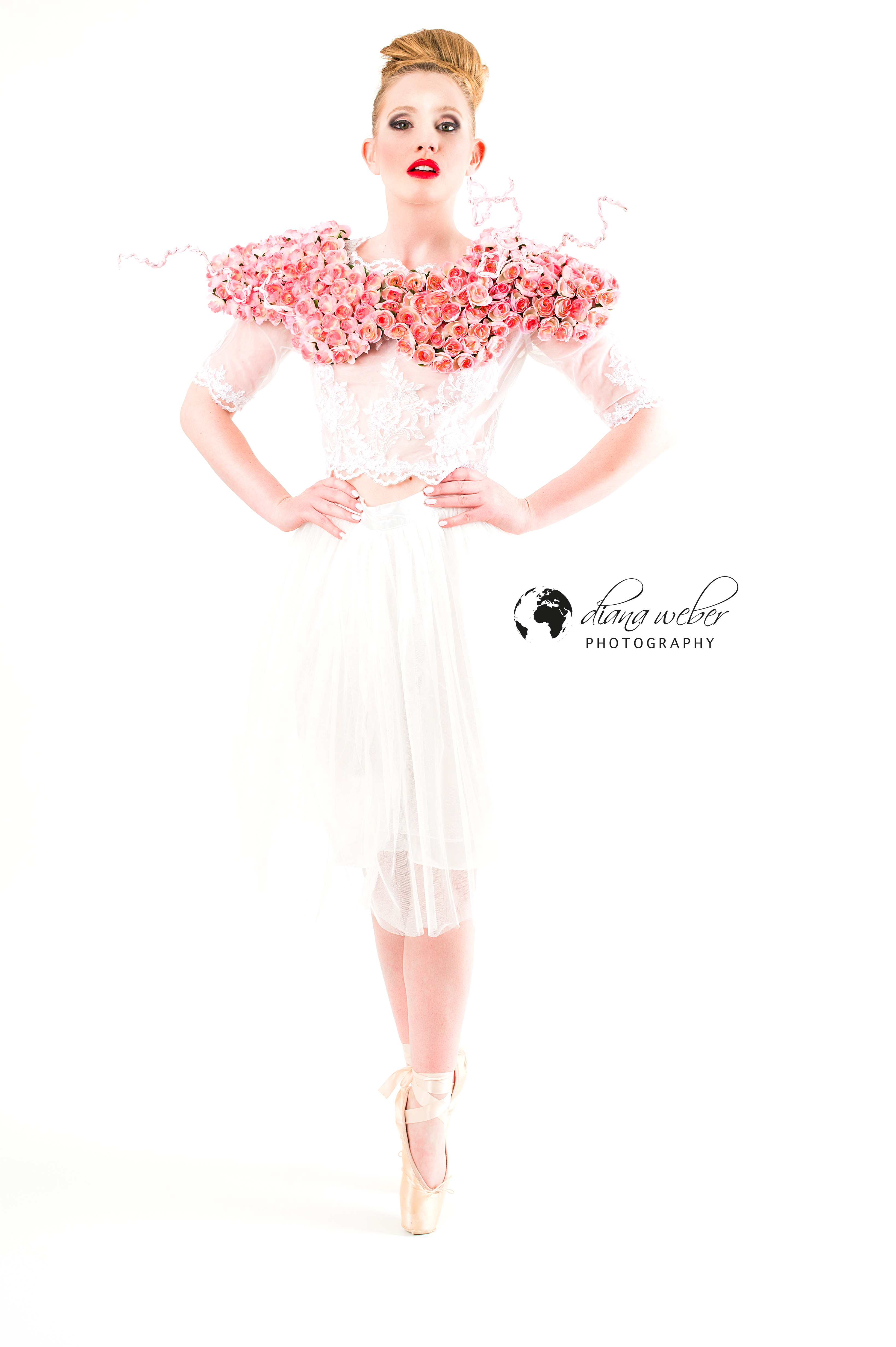 Flower in the fashion